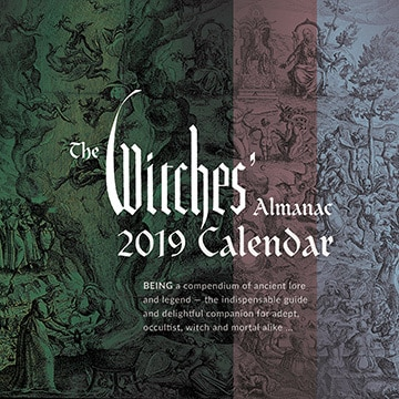 The Witches' Almanac 2019 Wall Calendar